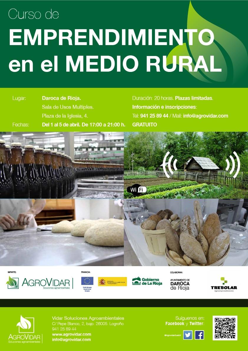 Emprendimiento en el medio rural en Daroca