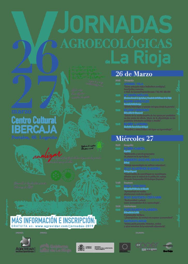 Cartel Jornadas Agroecológicas de La Rioja 2019