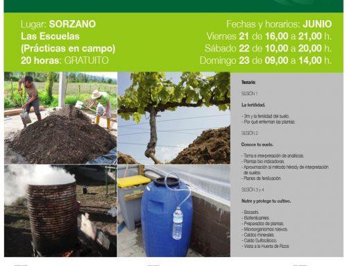 Curso teórico y práctico de AGRICULTURA REGENERATIVA en Sorzano.