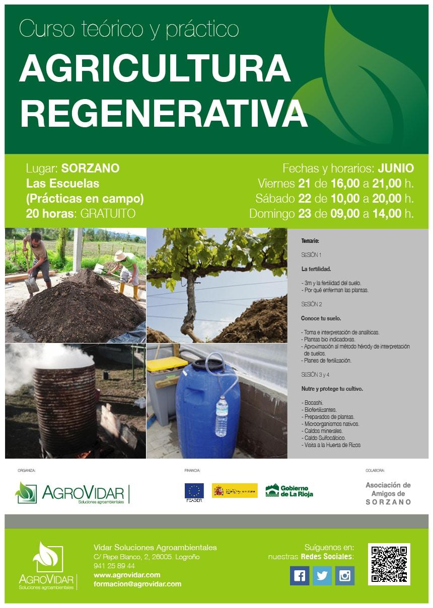 Agricultura Regenerativa en Sorzano