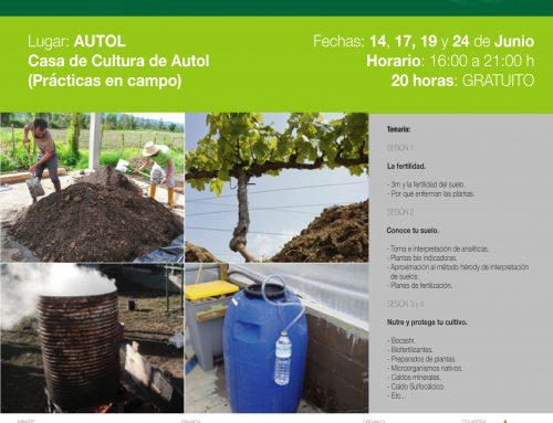 Curso teórico y práctico AGRICULTURA REGENERATIVA en Autol