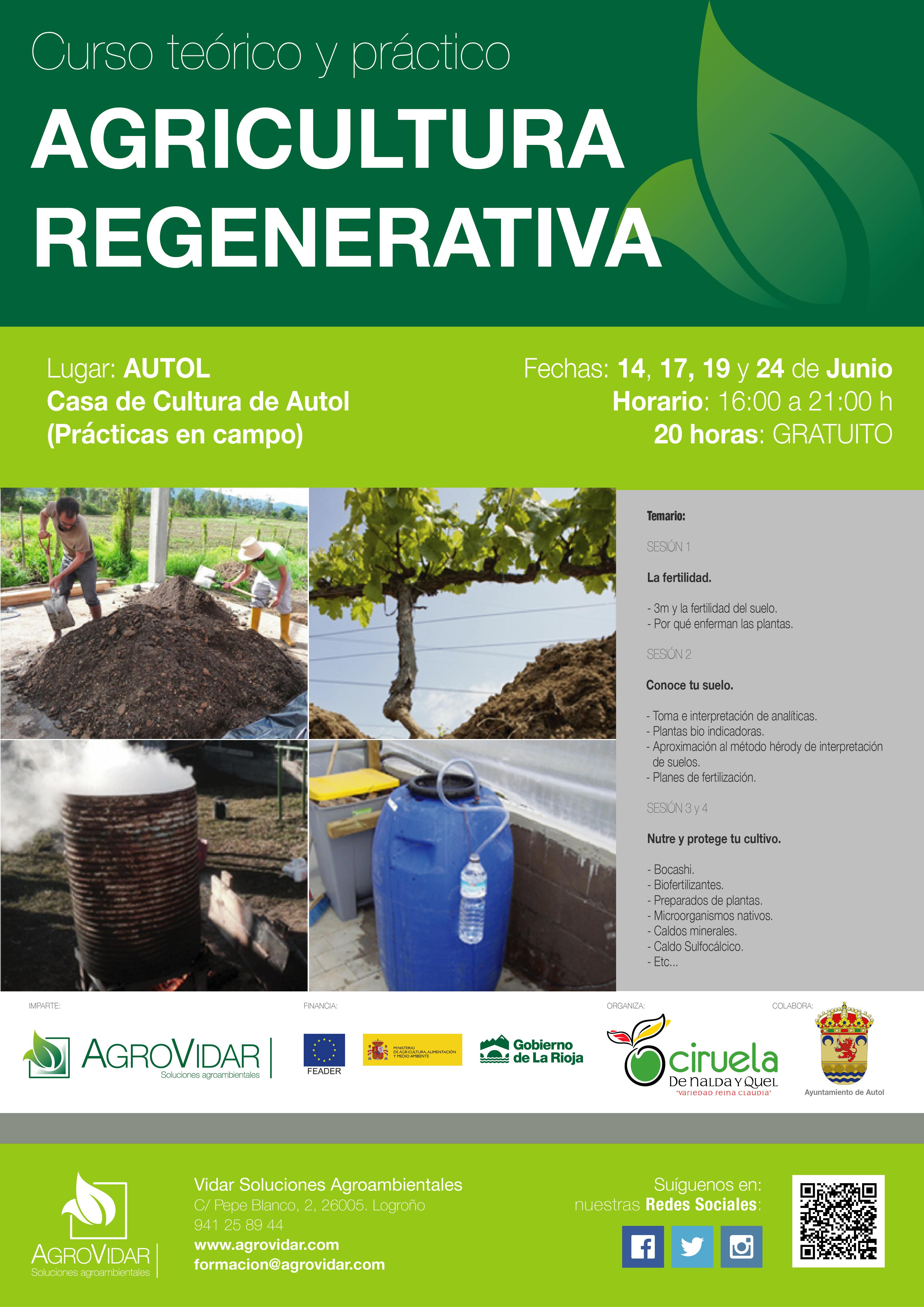 Agricultura Regenerativa en Autol